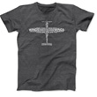 Airplane Anatomy T-Shirt - Dark Heather