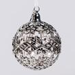 Jet Snowflake Ornament - Ball