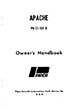 1959-1961 Piper PA23-160 Apache Owner's Manual (753-574)