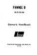 1973 & up Piper PA-25-235 & PA-25-260D Pawnee Owner's Manual (761-586)