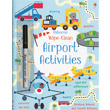 Airport Activities Wipe Clean Book