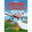 Chicken Wings Airplane Coloring Book Blue Skies