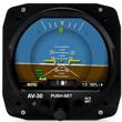 uAvionix AV-30C Primary Flight Display - Certified (Pre-Order)