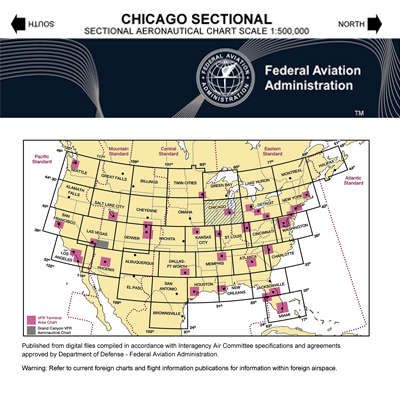 VFR: CHICAGO Sectional Chart