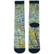 Aviation Sectional Chart Socks
