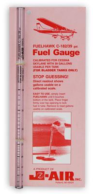FuelHawk Cessna 182 Fuel Gauge