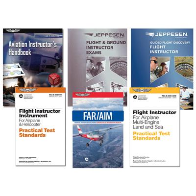 Jeppesen GFD Flight Instructor Part 61/141 Basic Kit