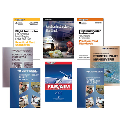 Jeppesen GFD Flight Instructor Part 61/141 Deluxe Kit