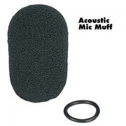 AVCOMM Acoustic Mic Muff for AC454+ Headsets