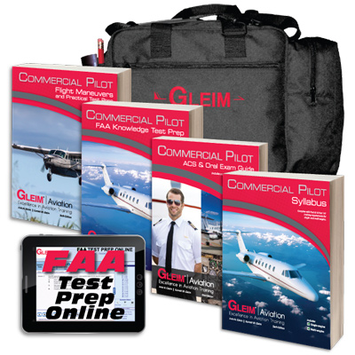 Gleim Commercial Pilot Kit With Software