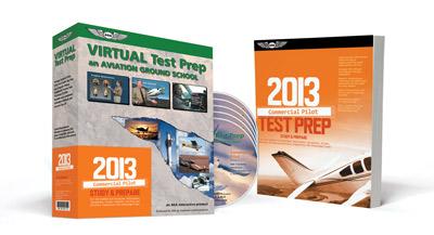 Asa Virtual Test Prep Dvd - Commercial Pilot