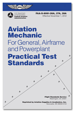 Practical Test Standards for Aviation Mechanics
