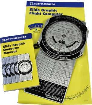 Jeppesen Metal CSG Computer (E6B)