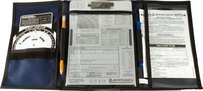 Jeppesen VFR Kneeboard with Clipboard