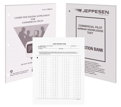 Jeppesen Commercial Pilot FAA Exam Package