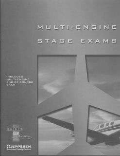 Jeppesen GFD Multi-Engine Stage/EOC Exams Booklet