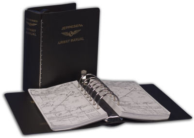 Jeppesen Standard Leather 1 inch Binder