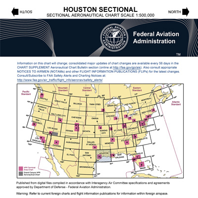 VFR: HOUSTON Sectional Chart