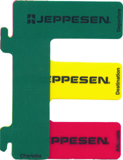 Jeppesen Chartabs - Set of 3