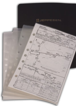 Jeppesen Approach Chart Protector - Set of 10
