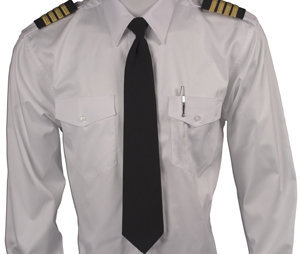 Pilot Tie, Zipper On - Long