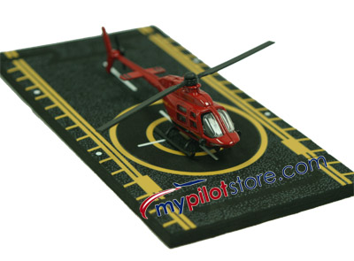 Bell 206 Jet Ranger Hot Wings Die-Cast Helicopter