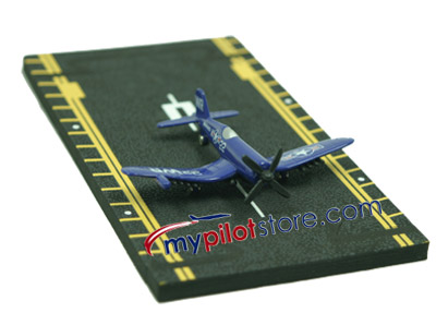 F4U Corsair Hot Wings Die-Cast Airplane