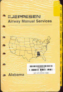 Jeppesen Index Tabs - State Tabs