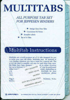 Jeppesen Multitabs