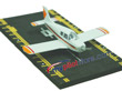 Piper Cherokee Hot Wings Die-Cast Airplane