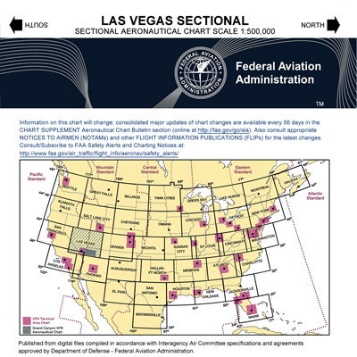 VFR: LAS VEGAS Sectional Chart