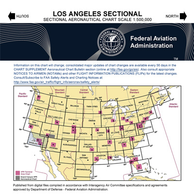 VFR: LOS ANGELES Sectional Chart