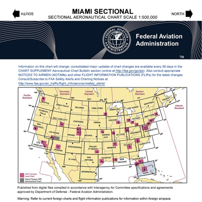 VFR: MIAMI Sectional Chart