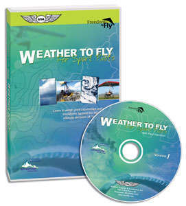 Sport Pilot DVD: Weather To Fly for Sport Pilots