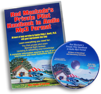 Rod Machado's Private Pilot Handbook - MP3 Audio Format