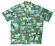 Island Mist Hawaiian Airplane Shirt