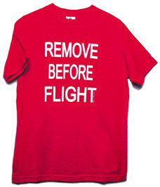 Men's Remove Before Flight T-Shirt