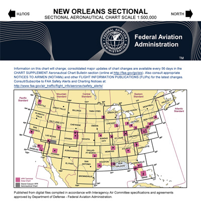 VFR: NEW ORLEANS Sectional Chart