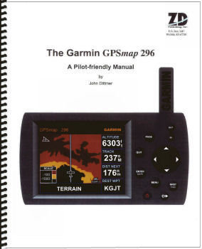 Garmin GPSmap 296 Pilot-Friendly GPS Manual