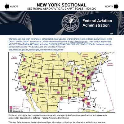 436d4856d4b VFR  NEW YORK Sectional Chart - MyPilotStore.com