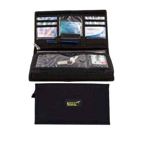 Noral Padded Logbook Cover - Master Size