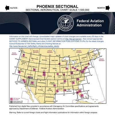 VFR: PHOENIX Sectional Chart