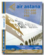 Air Astana B737-800 / B757-200 / Fk50 Cockpit Video (DVD)