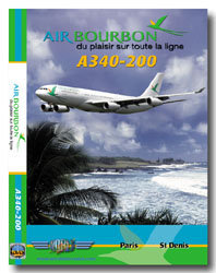 Air Bourbon Airbus A340-200 Cockpit Video (dvd)