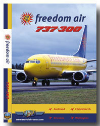Freedom Air Boeing 737-300 Cockpit Video (DVD)