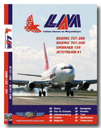 LAM 737-200 / 767-200 / Emb120 / J41 Cockpit Video (DVD)