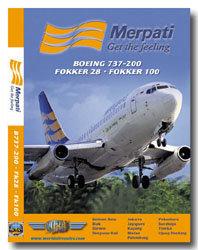 Merpati Nusantara 737-200 / Fk28 / Fk100 Cockpit Video (DVD)