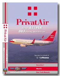 PrivatAir A319LR / BBJ Cockpit Video (DVD)