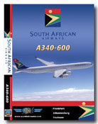 South African A340-600 Cockpit Video (DVD)
