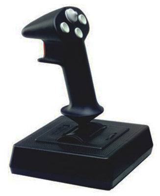 CH Products Flightstick Pro USB 4-Button Joystick 8-Way Hatswitch ( 200-503 )